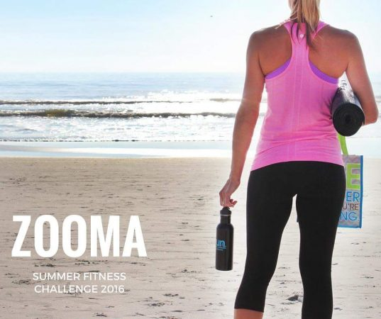 Check out the new ZOOMA Summer Fitness Challenge kicking off on June 27, 2016! Get motivation with meal plans, awesome workouts, and swag!