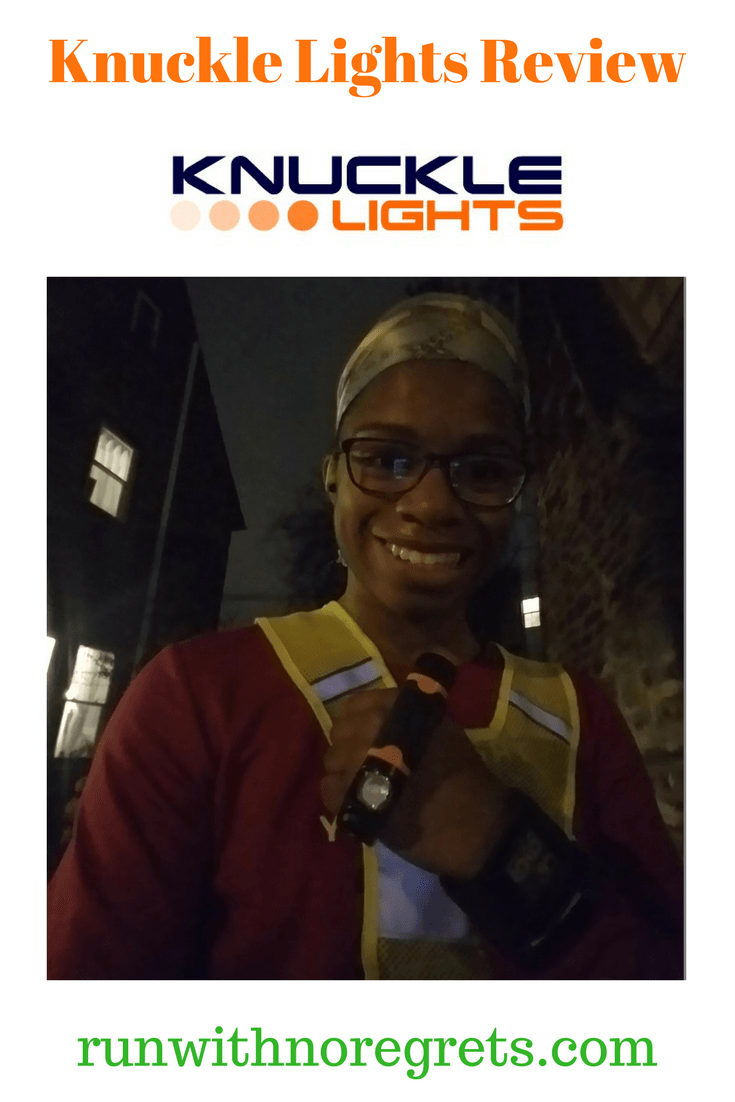 If you're looking for a way to run safely in the dark, check out Knuckle Lights! I share my review of these bright running lights and more running products at runwithnoregrets.com!