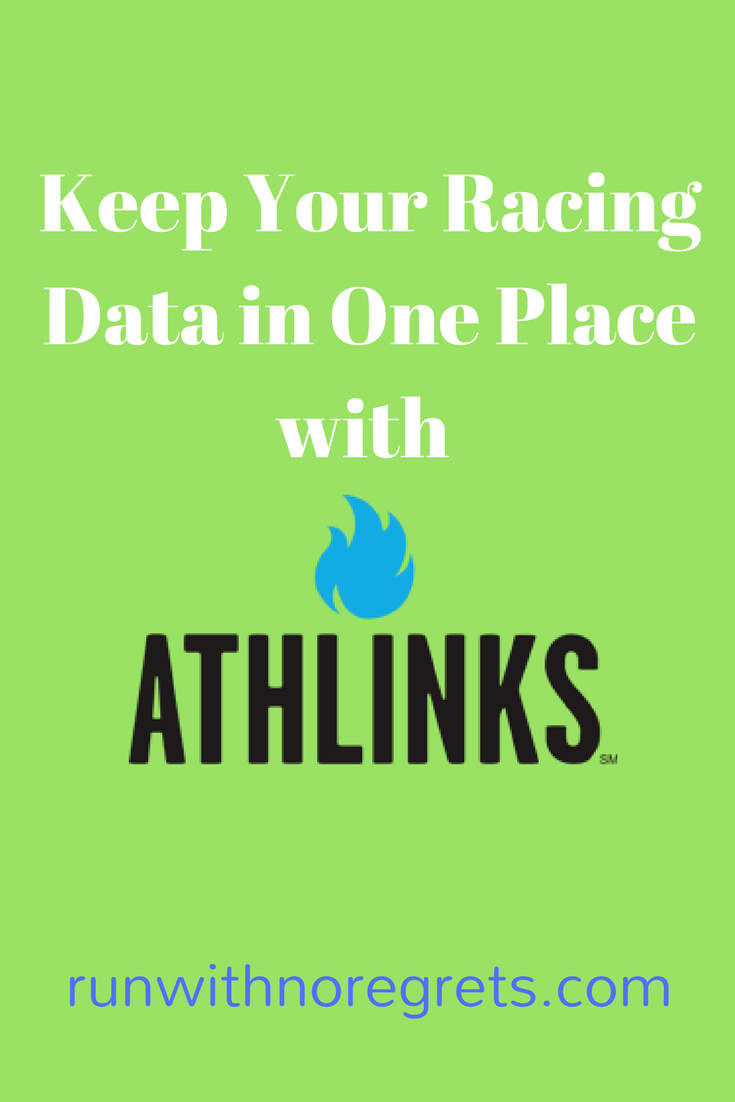Keep Your Racing Data in One Place with Athlinks | Run With No Regrets