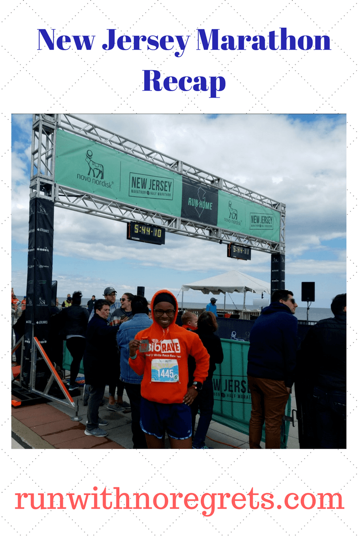 New Jersey Marathon Race Recap | Run With No Regrets